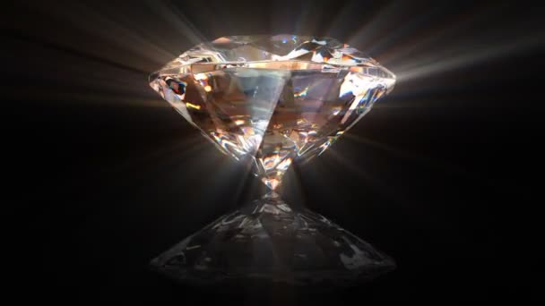 Beautiful rotating diamond