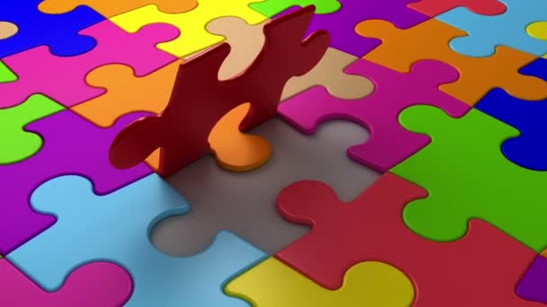 poslední puzzle kus spadne na místo
