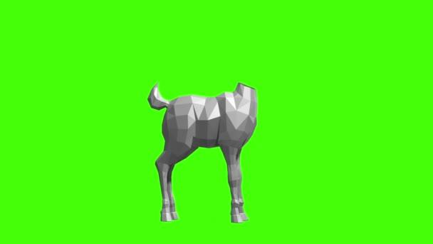 vytvoření animovaného jelen