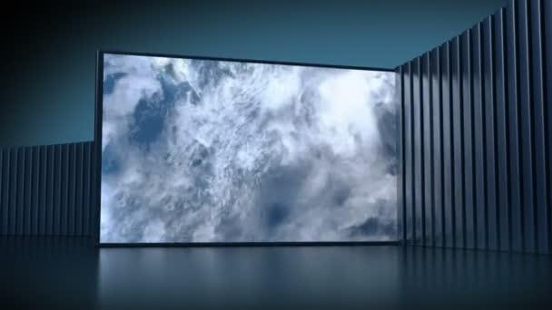 Videotéka, loop-képes 3d animáció
