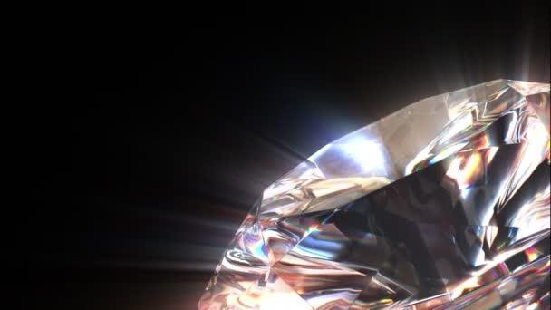 Diamond bakgrund, loop-kunna 3d-animering