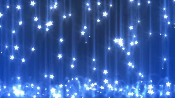 Star rain, seamless looped background