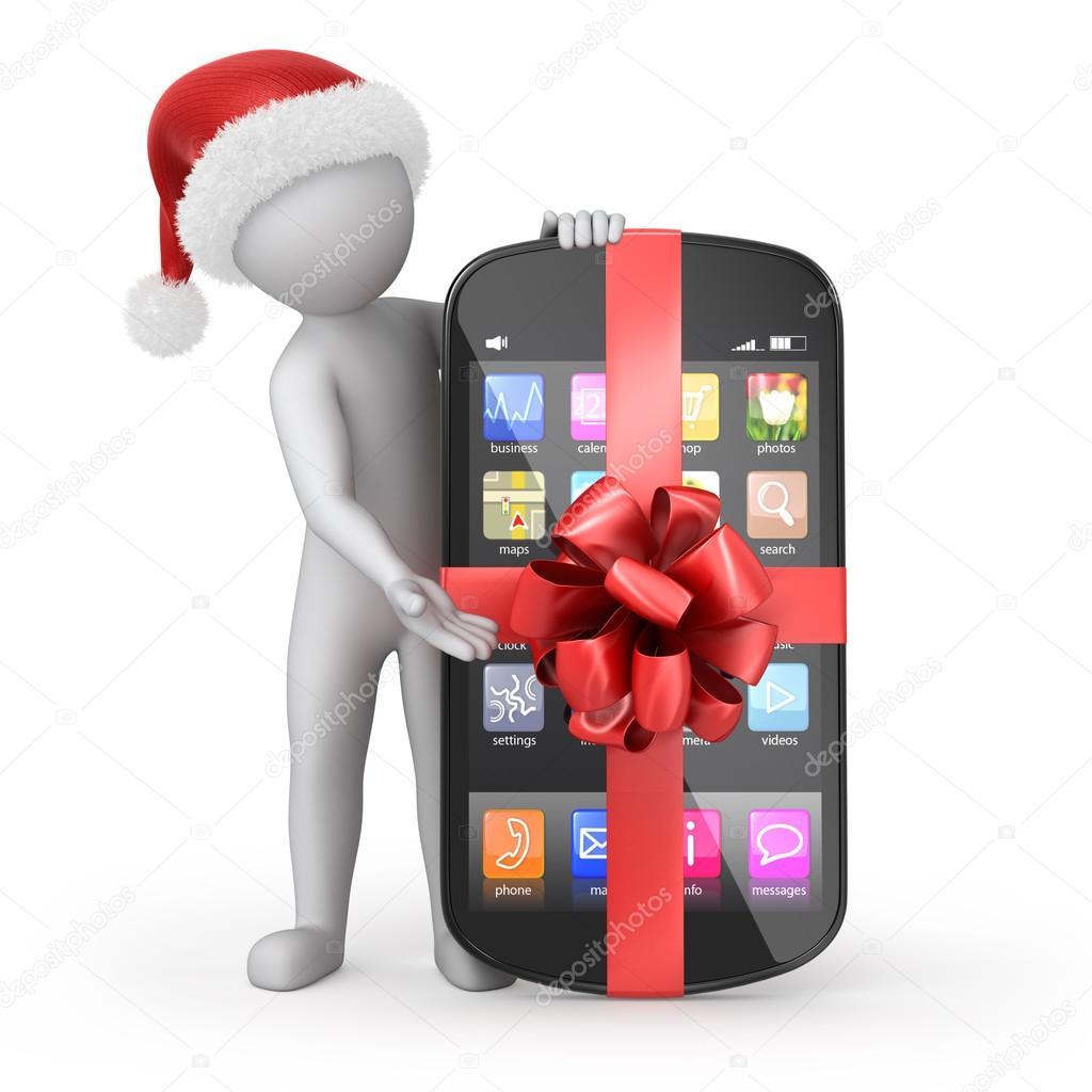 telefoon en cadeau
