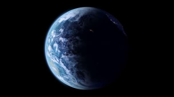 Slowly rotating Earth