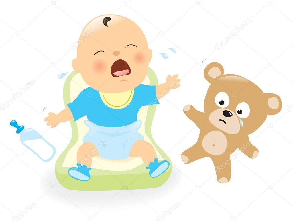 叫びの赤ん坊 — ストックベクター © wetnose #39040599