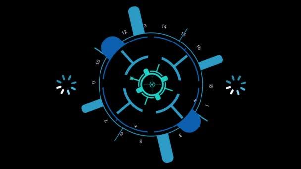 2D ikona, zraku a indikátor