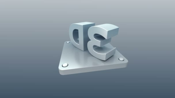 3D ikony