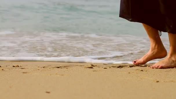 Lány a parton