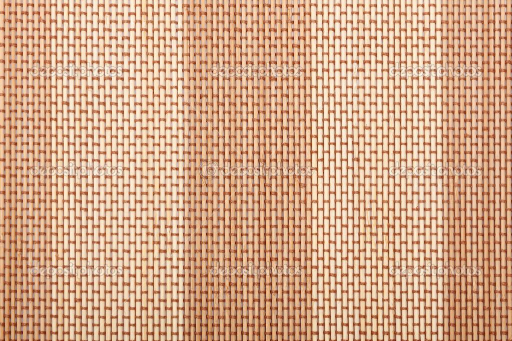 Ordinaire Bamboo Tablecloth Texture U2014 Stock Photo