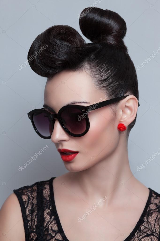 Fashionable model