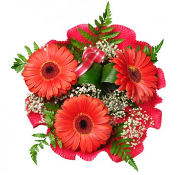 Bouquet of flowers with gerberas