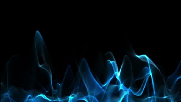 modrý plamen animace