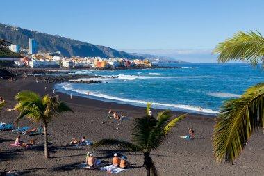 Playa Jardin in Puerto de la Cruz, Tenerife