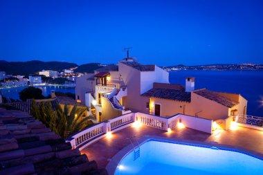 Night in Paguera Village, Mallorca