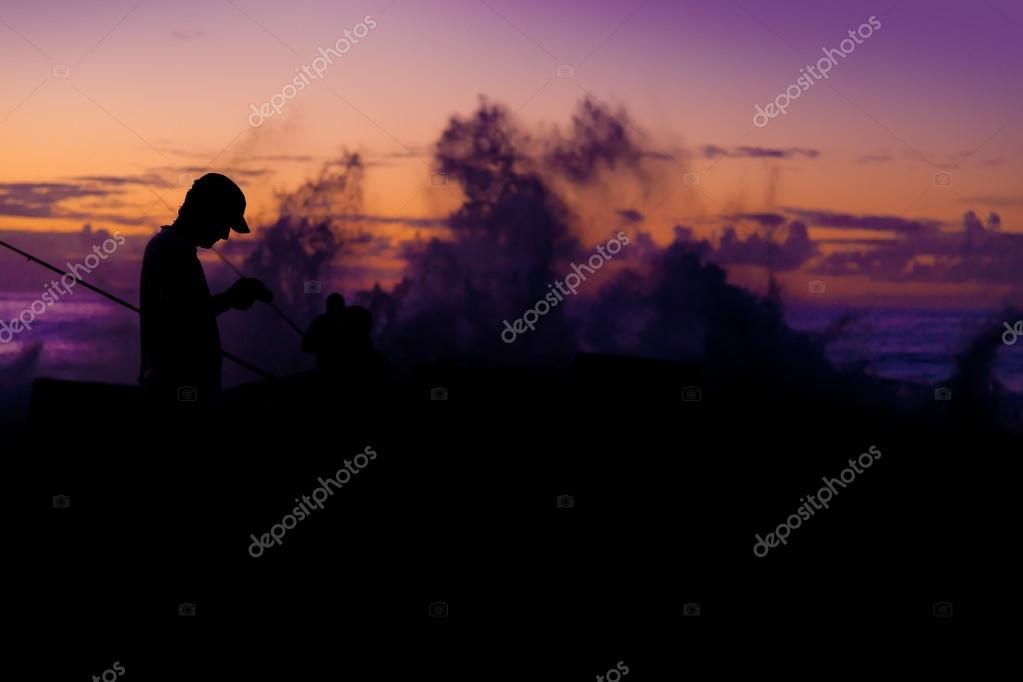 Fishermans at Sunset