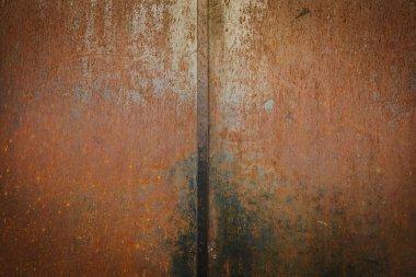 Rusty Metallic Wall