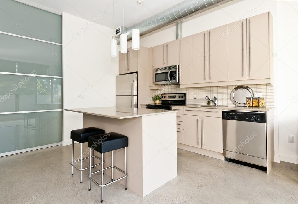 Superior Moderne Eigentumswohnung Küche U2014 Stockfoto