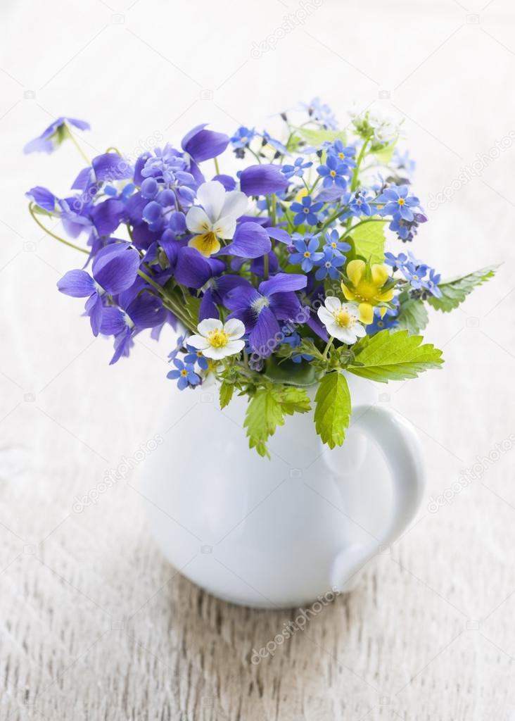 Wildflower Bouquet Stock Photo Image By C Elenathewise 48823545