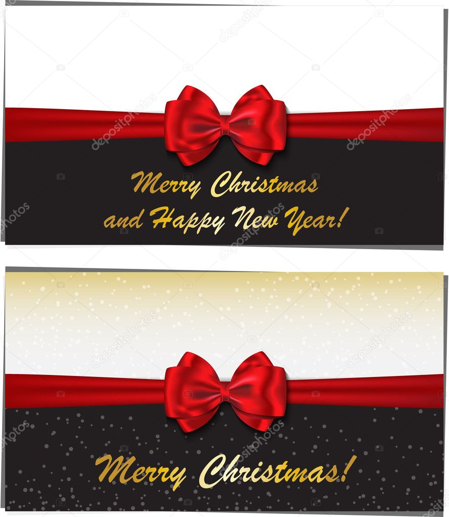 Merry christmas and happy new year luxury greeting cards stock merry christmas and happy new year luxury greeting cards stock vector kristyandbryce Images