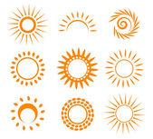 symbolické slunce