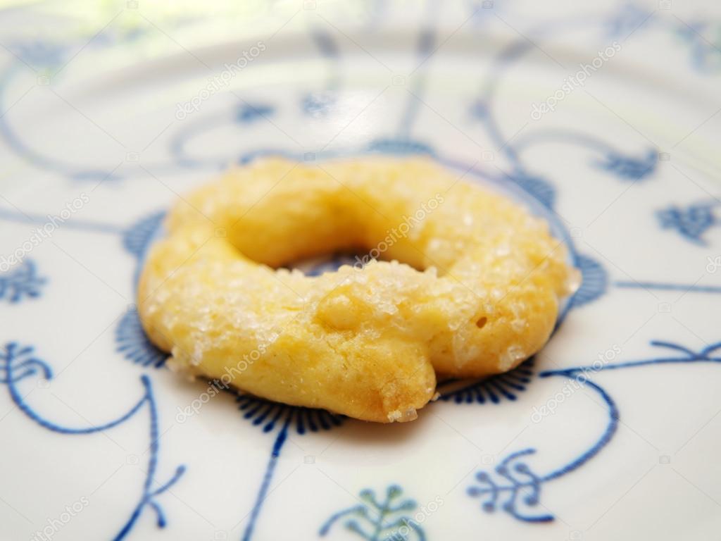 Berlinerkrans, norwegian christmas cookie — Stock Photo © arvebettum ...