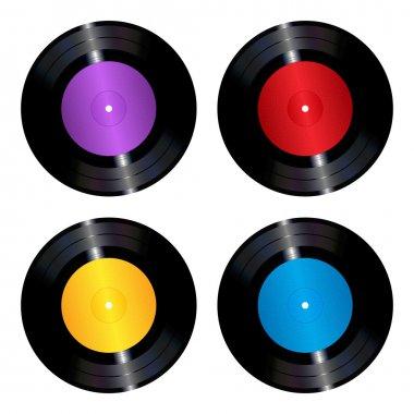 Vinyl records set