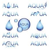 Fényképek Aqua design elem