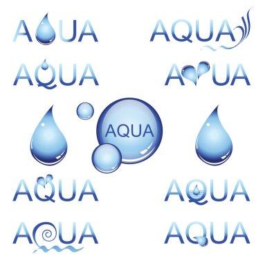 Aqua design element