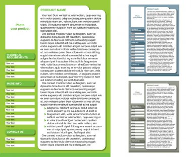 Magazine Layout Template (3 color pages)