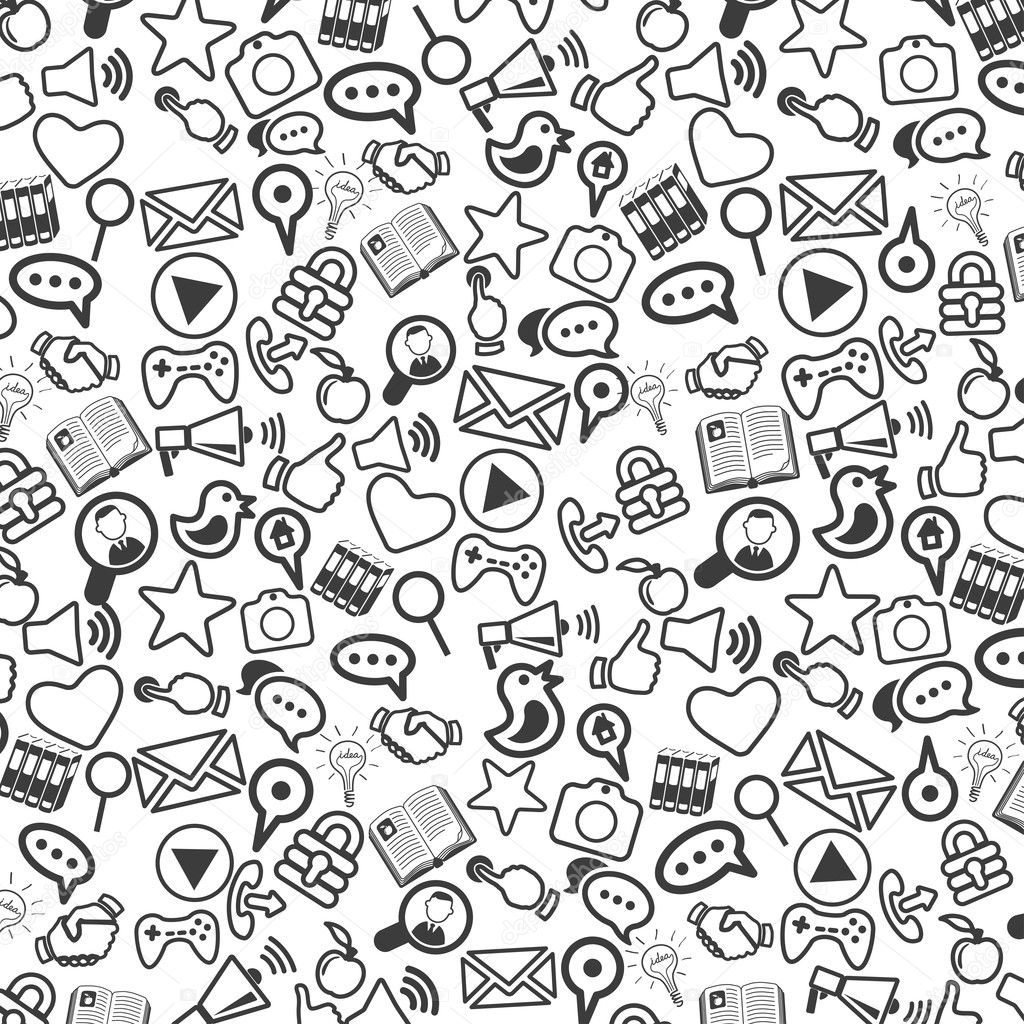 Background of universal web icons.
