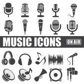 Photo Music Icons