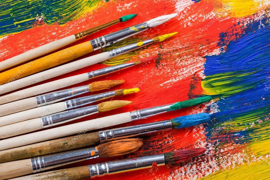 картинки художники кисти краски идеи для
