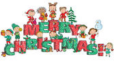 Veselé Vánoce děti na dopisy