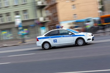 Russian police car