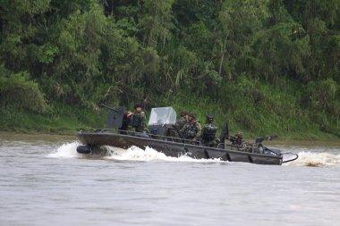 Reid Marines on the river Guaviare