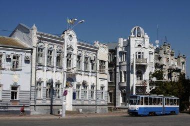 Resort city of Evpatoria