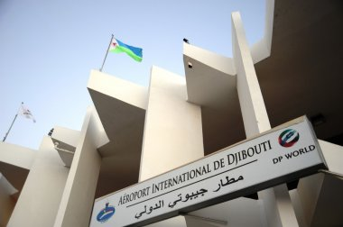 International airport in the city of Djibouti.