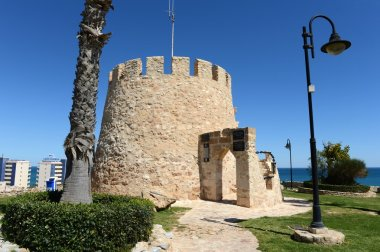 Symbol of the city Torrevieja  - the old tower. Spain