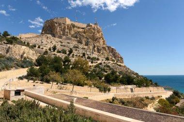 Santa Barbara fortress in Alicante