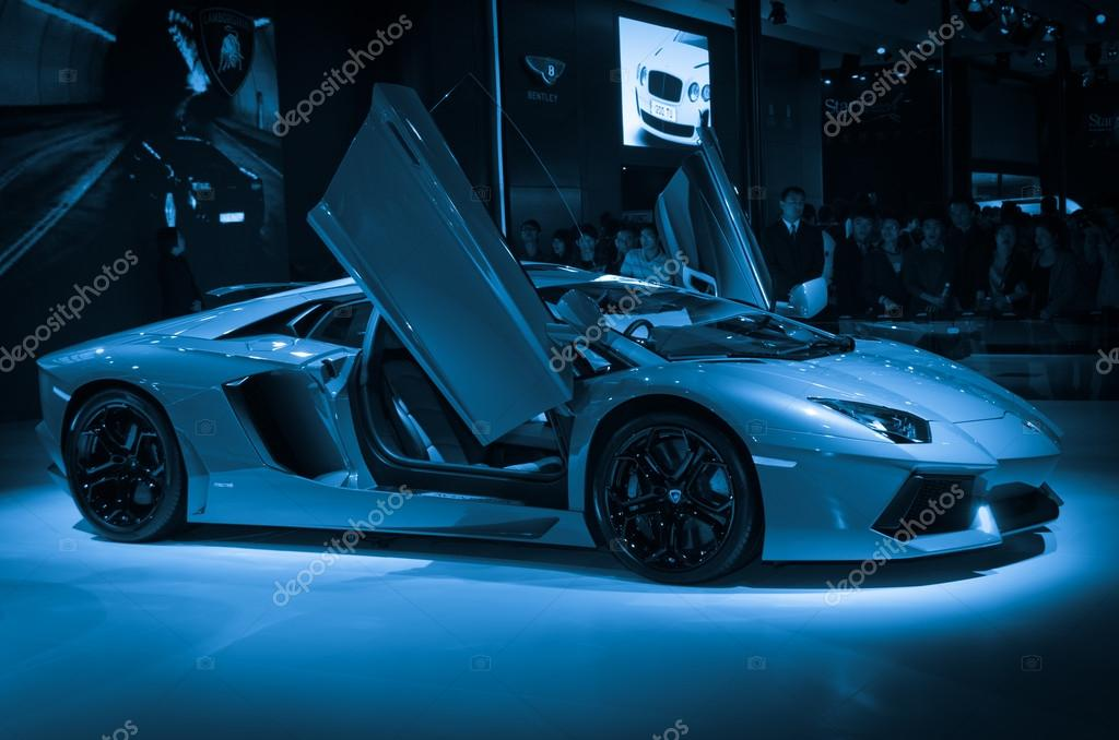 lamborghini aventador lp700 4 sport car stock editorial photo panxunbin 17448957. Black Bedroom Furniture Sets. Home Design Ideas