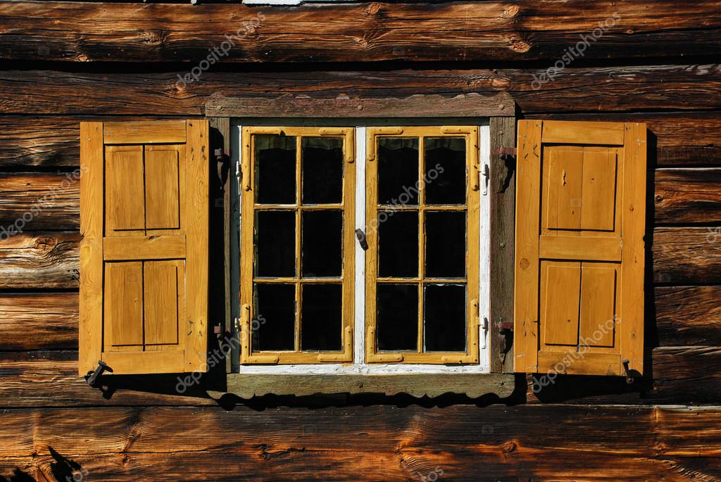 Old wooden window with shutters stock photo shiningblack 49177965 old wooden window with shutters stock photo sisterspd