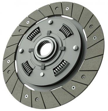 Vehicle clutch plate