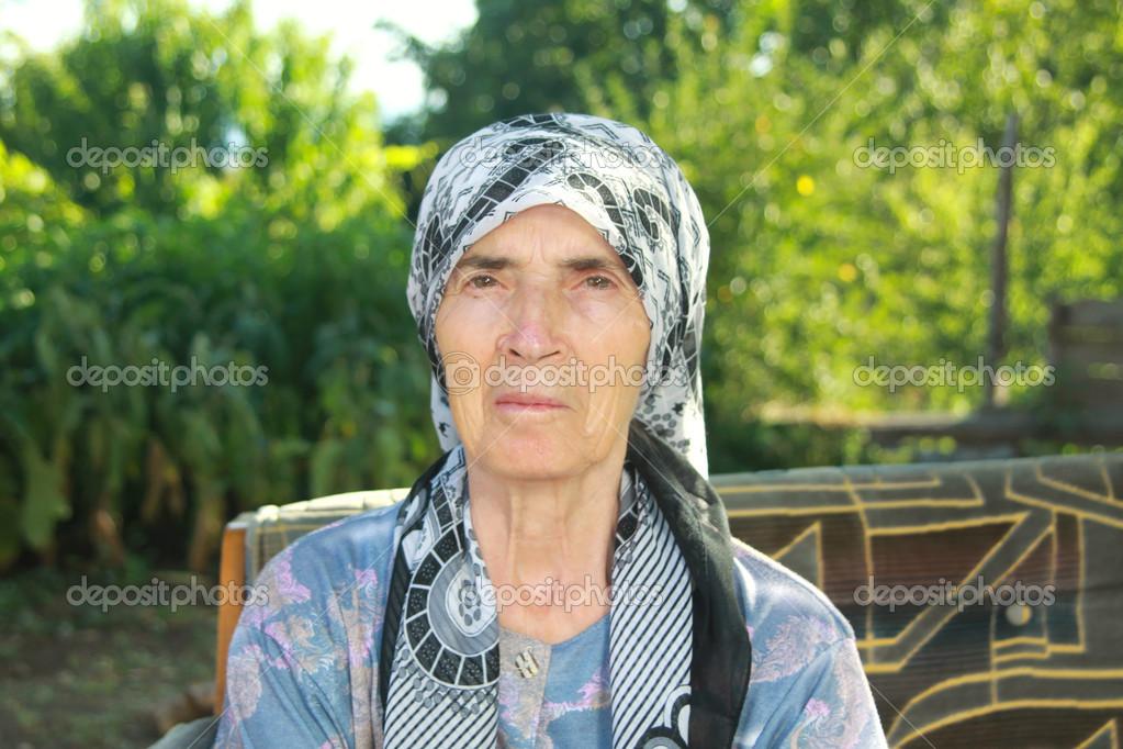 Old Turkish Woman - Stock Editorial Photo © muharremz
