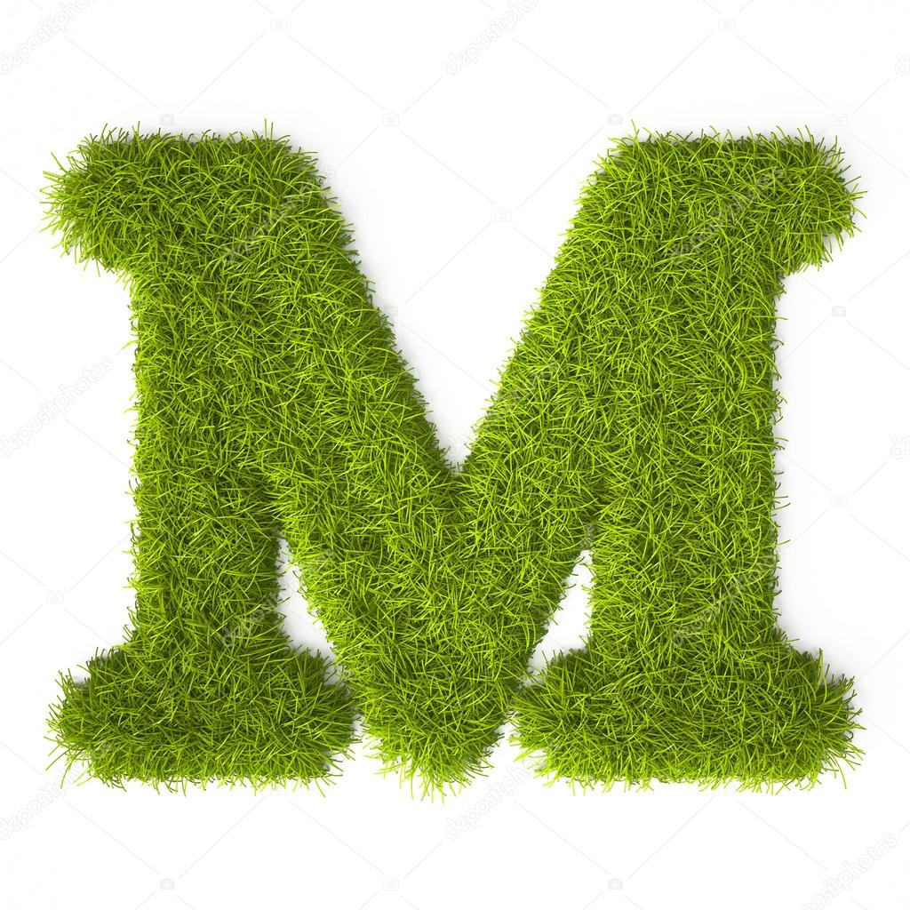 Grass style latin alphabet letter m stock photo vahekatrjyan grass style latin alphabet letter m stock photo thecheapjerseys Images