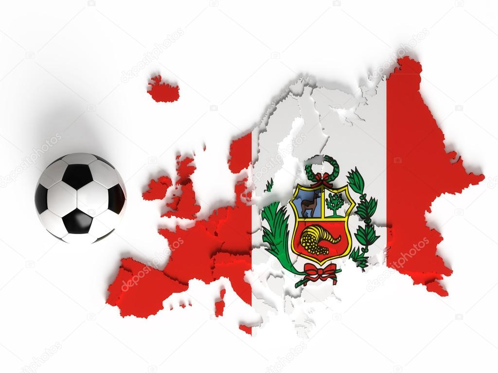 Animado: Niño Con Bandera Peruana