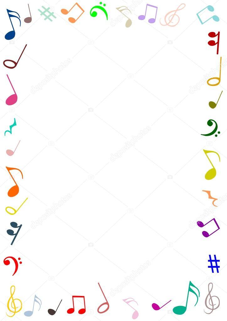 Music frame — Stock Photo © darrenw #19745795