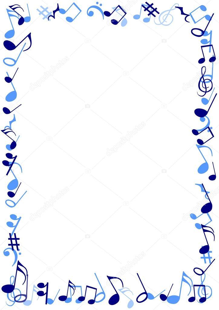 Blue Music frame