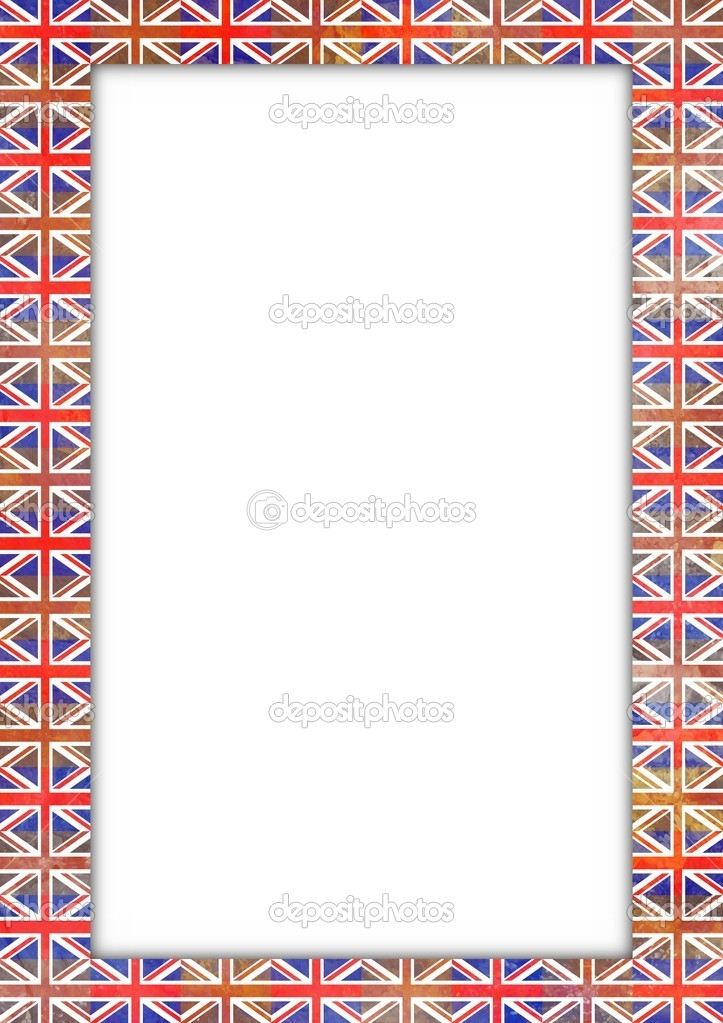 UK flag border — Stock Photo © darrenw #20721095