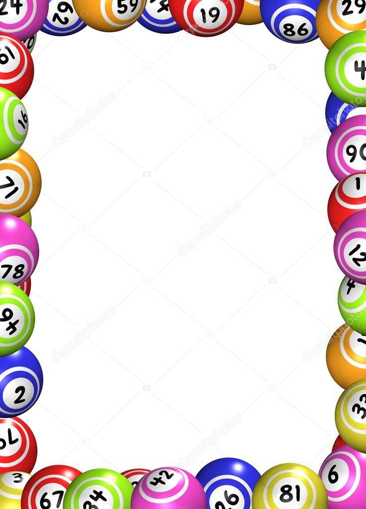 Moldura De Bolas De Bingo Stock Photo 169 Darrenw 22009909
