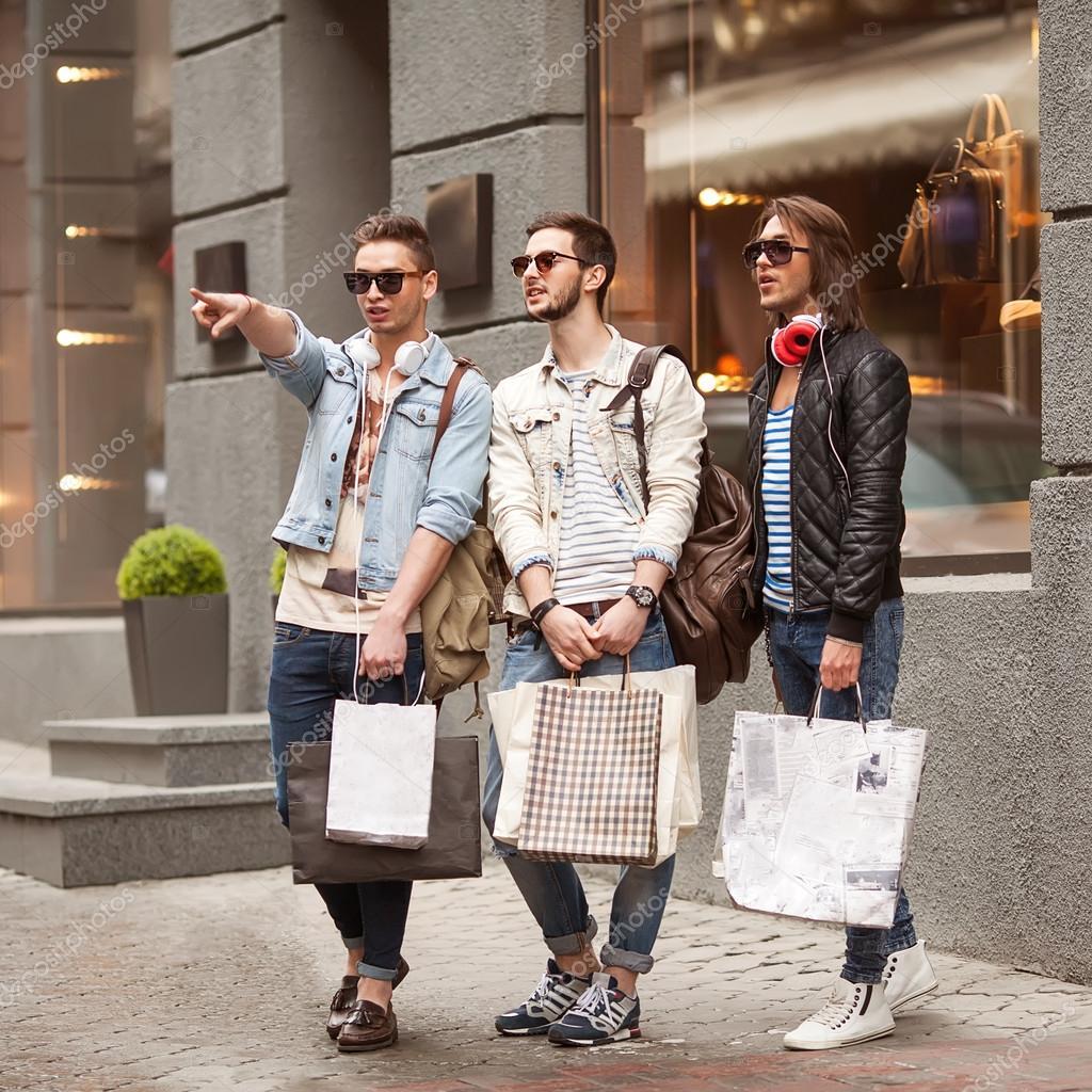 Man to man clothing store